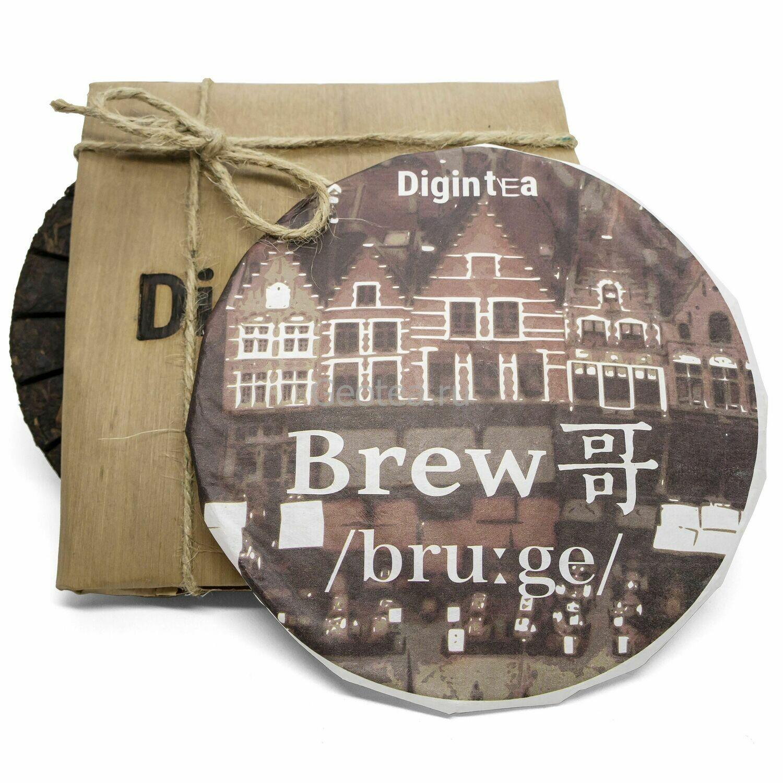 """Чай Шу Пуэр Digintea BrewGe """"Бельгийская вафля"""" 200гр."""