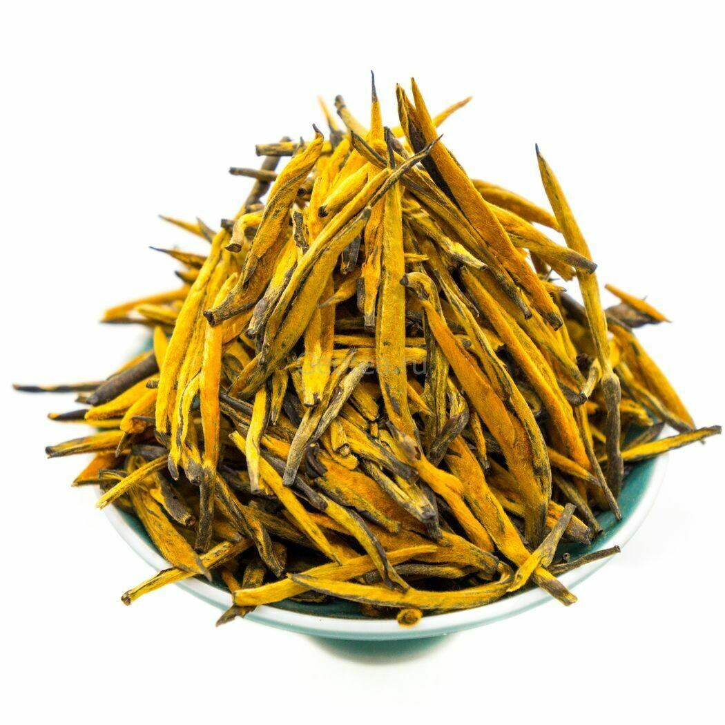 Чай Красный Дянь Хун Да Цзинь Чжэнь #330 «Большие Золотые Иглы»