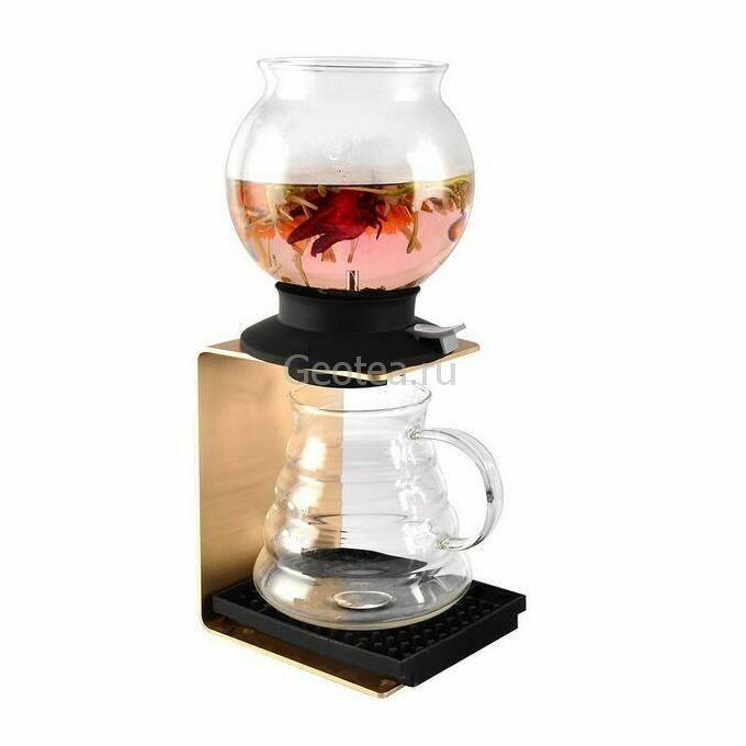 Заварник / чайник с пластиной, стекло
