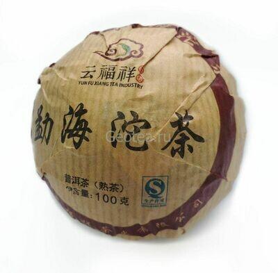 Чай Шу Пуэр Юньфусян, То Ча, 2016г. 100гр.