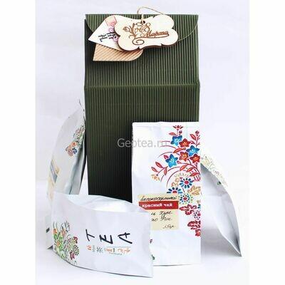 """Подарочный набор """"4 вида чая"""""""