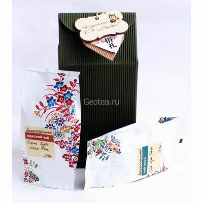 """Подарочный набор """"2 вида чая"""""""
