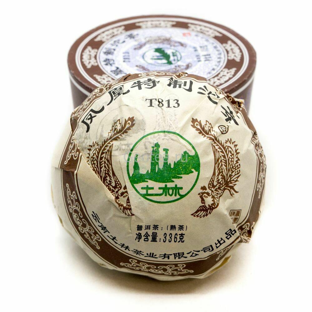 Чай Шу Пуэр Тэчжи 813, 2014г., 336гр.