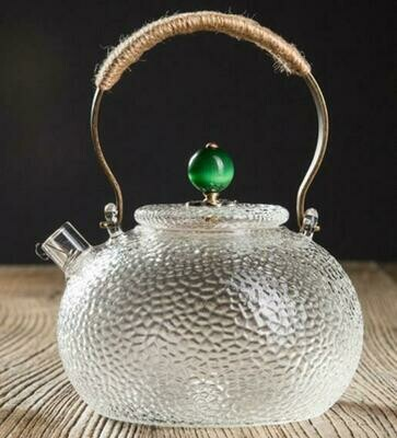 """Чайник  """"Отбивное стекло"""" с пружиной, 700мл."""