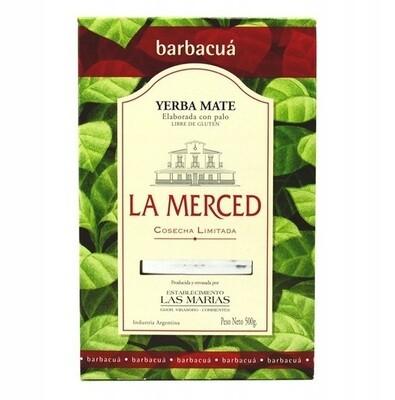 Йерба Мате La Merced Barbaqua 500гр.