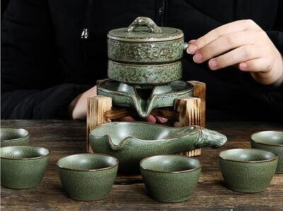 """Сервиз Водяная мельница """"Замшелый"""", керамика"""