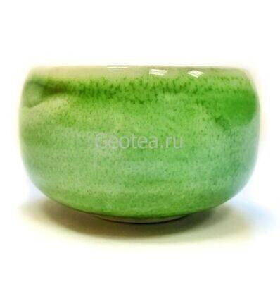 """Пиала """"Зеленый песок"""", керамика, 100мл."""