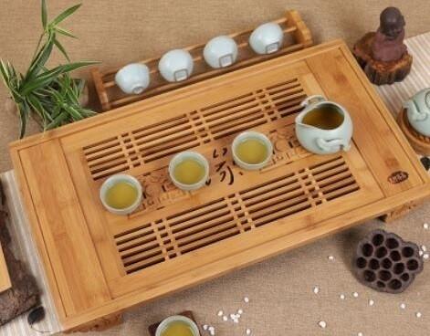 """Чайная доска, Чабань """"Фай юань"""", натуральный бамбук"""