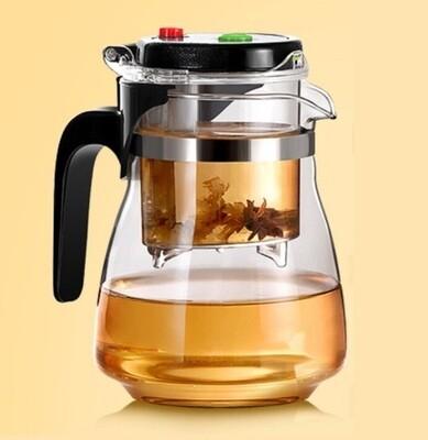 Чайник гунфу, стекло без носика 750мл.