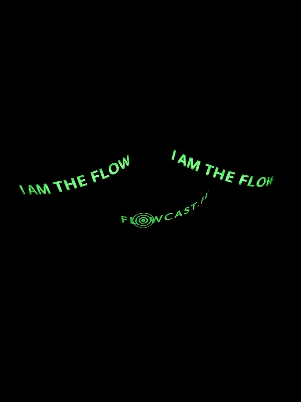 I AM THE FLOW - Armband (Leuchtet)