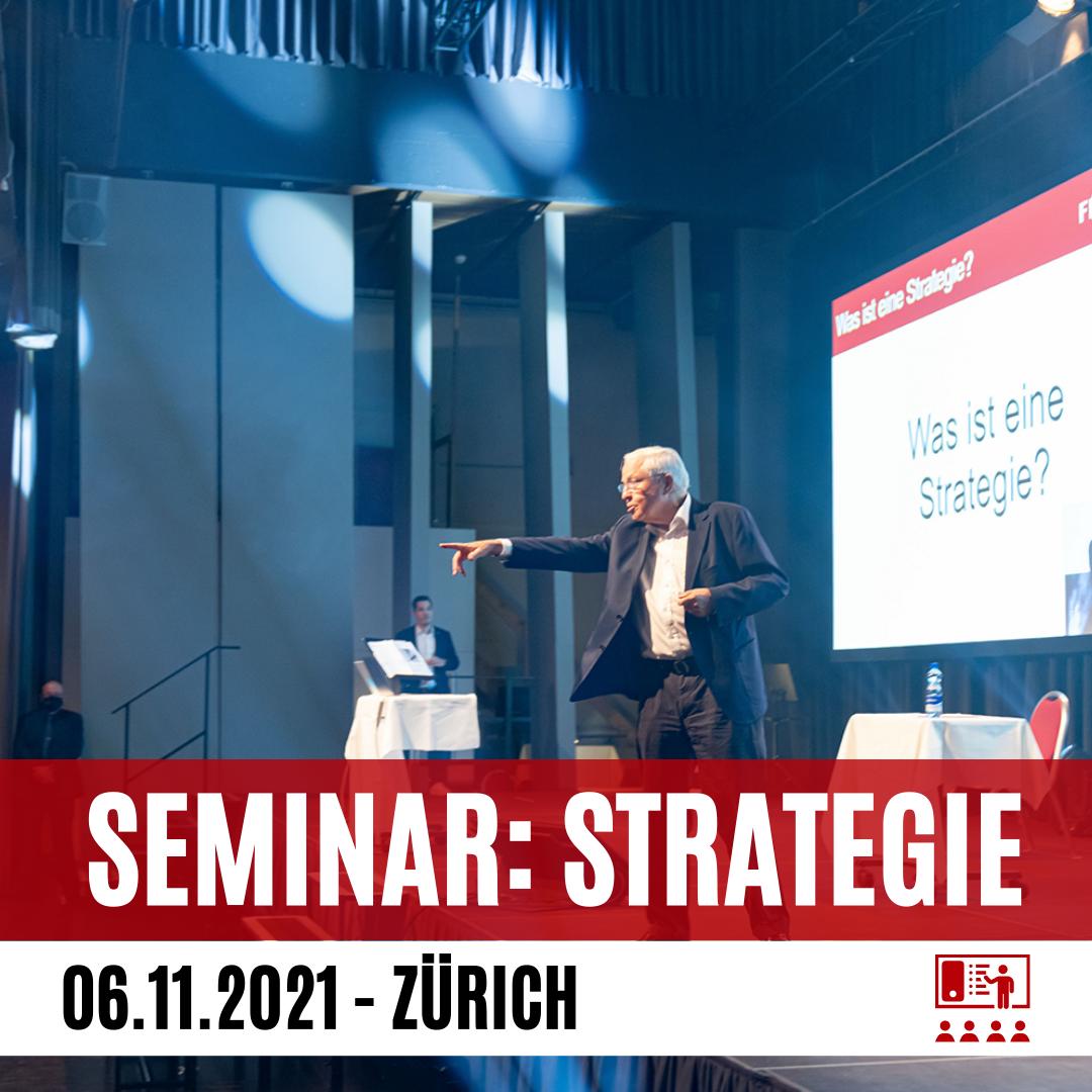 Strategielehre mit Dr. Blocher (Early Bird)