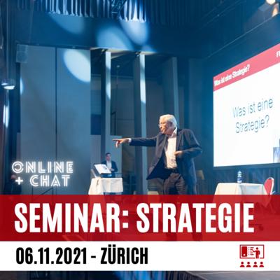 Strategielehre mit Dr. Blocher | Online-Ticket + Live-Chat
