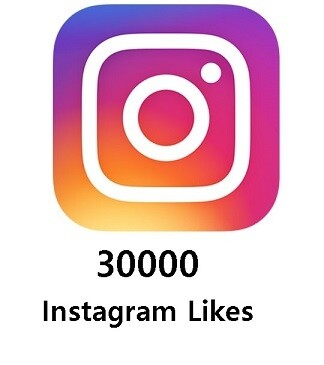 30000 Instagram Likes
