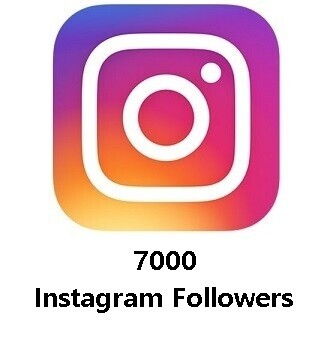 7000 Instagram Followers