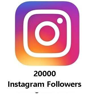 20000 Instagram Followers