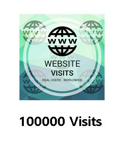 100000 Website Visits