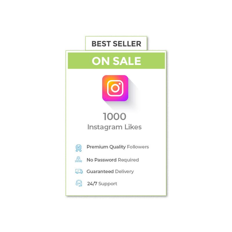 1000 Instagram Likes
