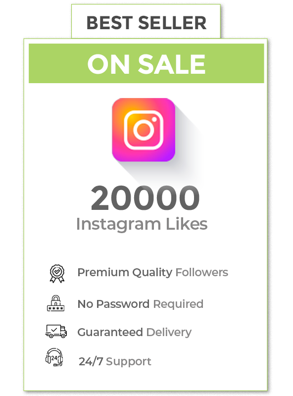 20000 Instagram Likes