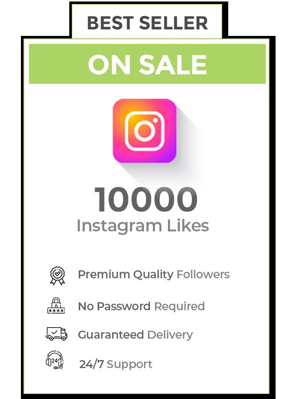 10000 Instagram Likes