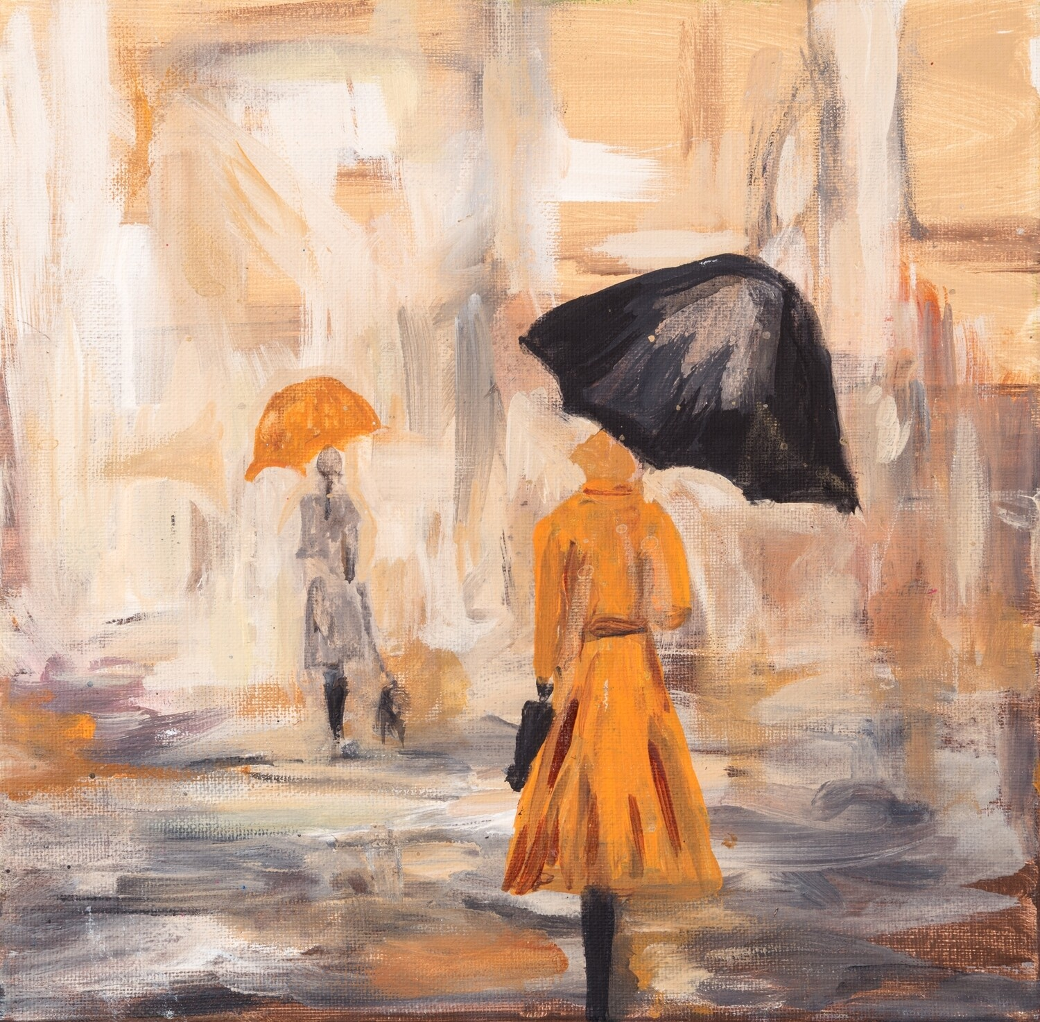 Lady with Umbrella