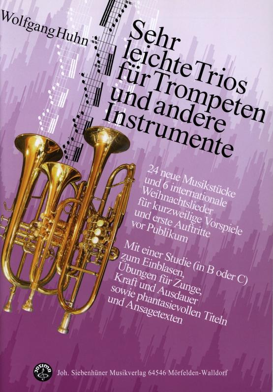 Sehr leichte Trios für Trompeten und andere Instrumente