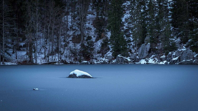 Haute-Savoie, Passy, Lac Vert