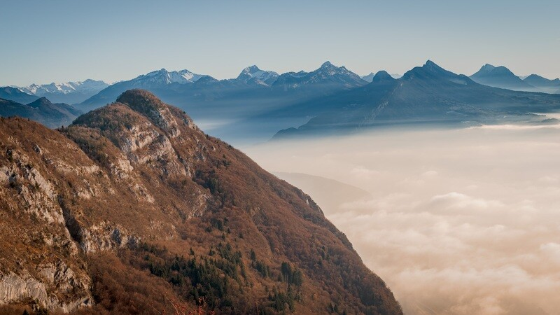 Haute-Savoie, Annecy, Mont Veyrier