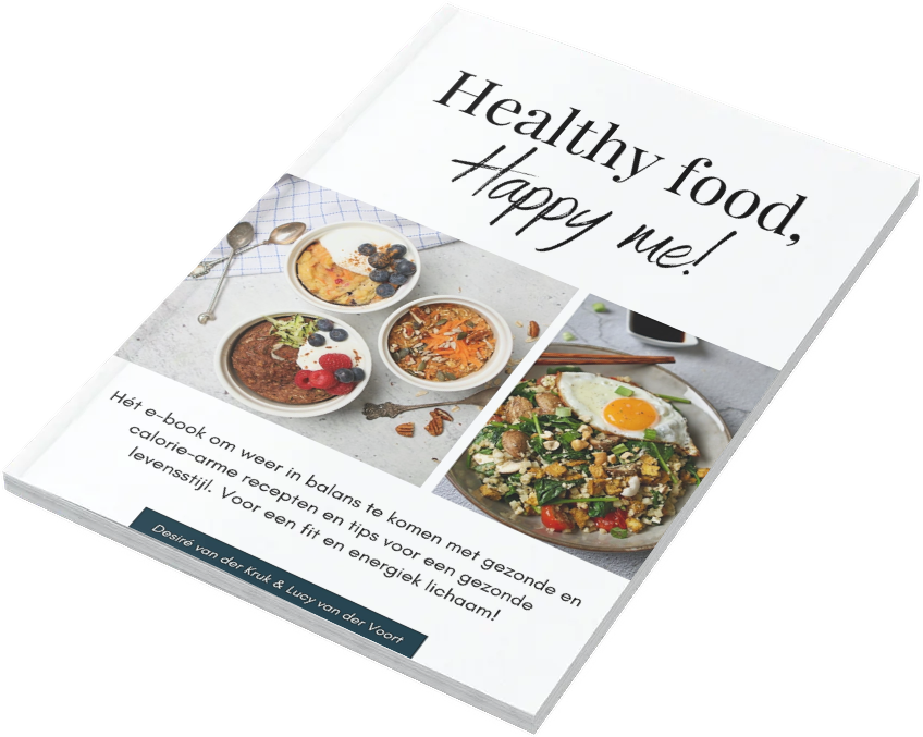 Interactief e-book Healthy food, happy me!