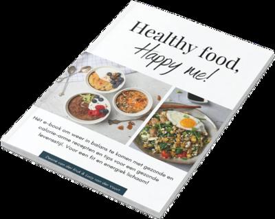 Interactief e-book Healthy food, happy me!