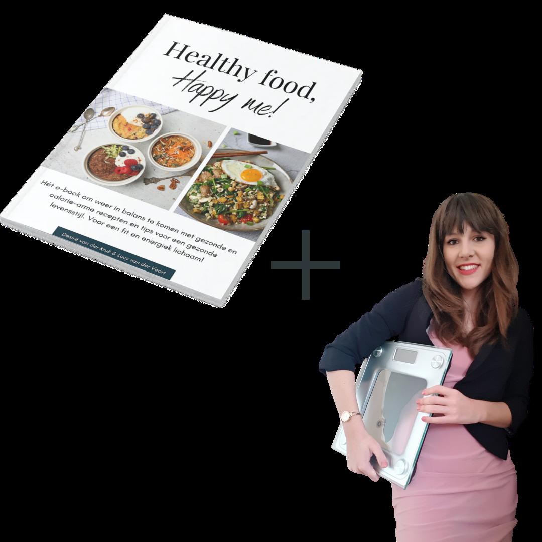 Interactief e-book Healthy food, happy me! + 1 uur diëtistenconsult