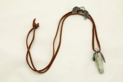 Aventurine Boho Leather Necklace