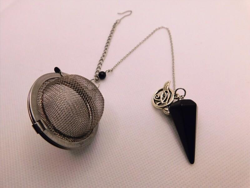 Obsidian Pendulum Tea Steep