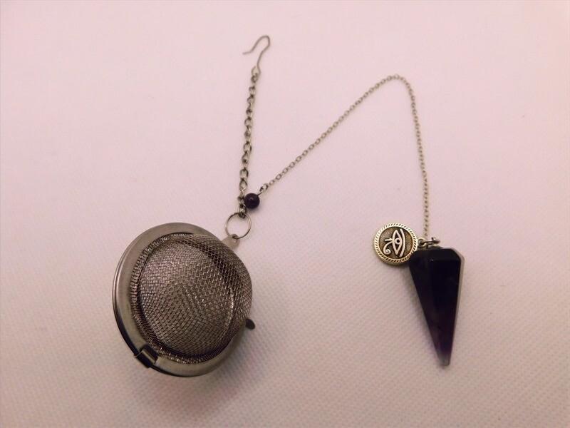 Amethyst Pendulum Tea Steep