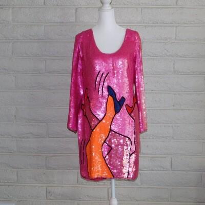 PHILIPPE ALBERT 80s dress