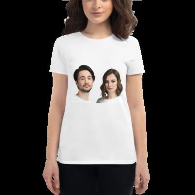 Celebrating You Designer Women's Short Sleeve Anvil 880 T-Shirt