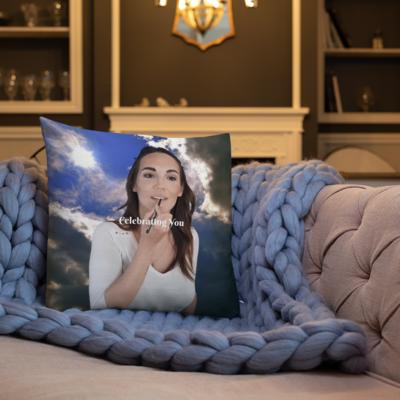 Celebrating You Designer Premium Pillow