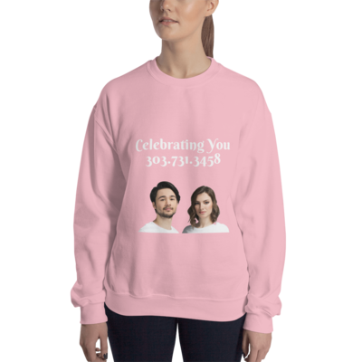 Celebrating You Designer Sweatshirt