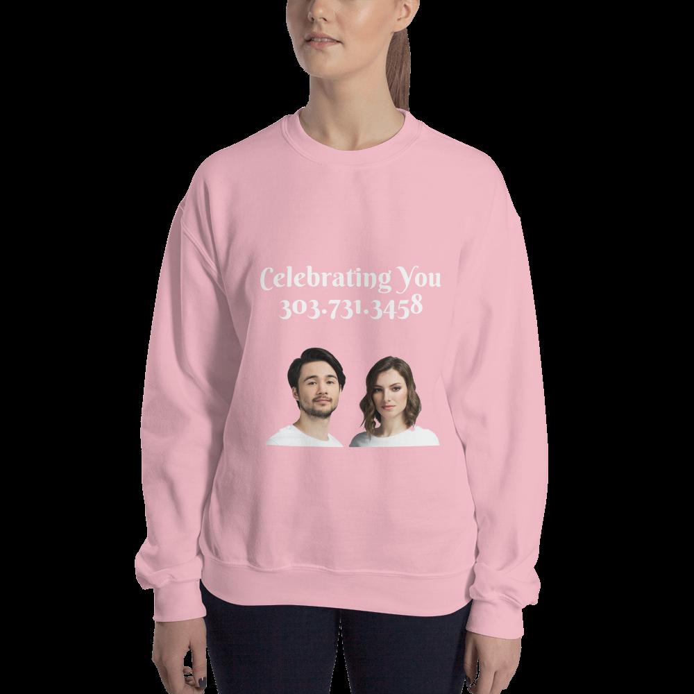 Celebrating You Designer Sweatshirt