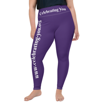 Celebrating You Designer Plus Size Leggings