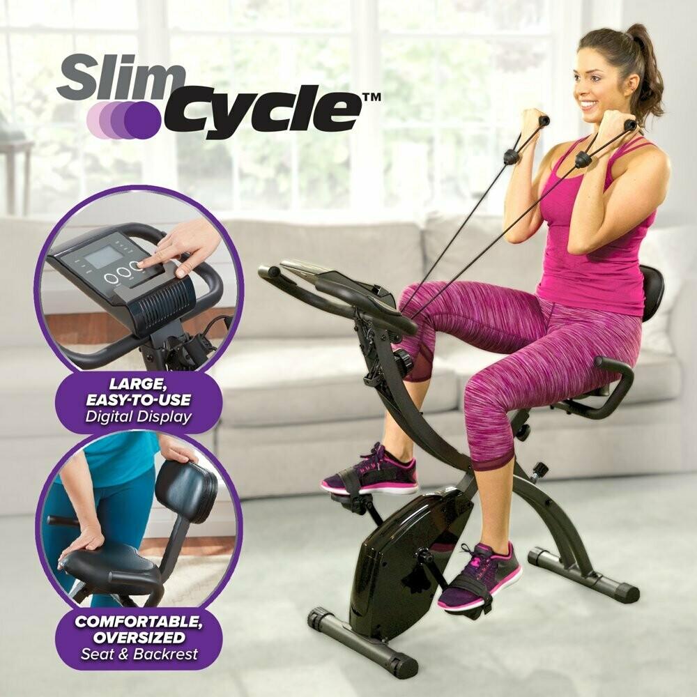 Slim Cycle Stationary Bike