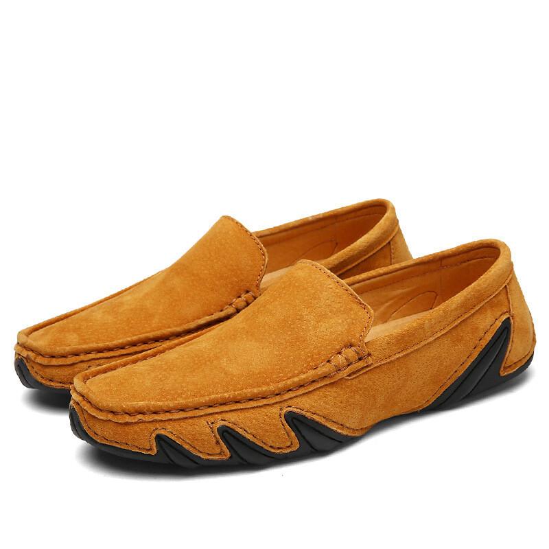 Men's loafer shoes leather loafer shoes men loafer leather moccasins