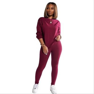 Hot Sale Two Piece Set Tracksuit Women sweat suits women 2021