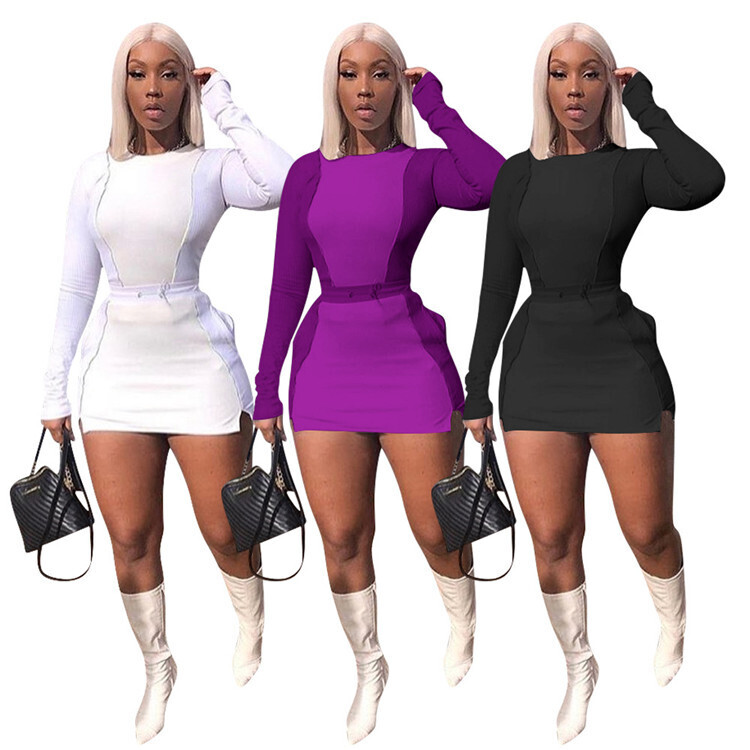 Long Sleeve Bodycon Stylish Fashion Dress for Women