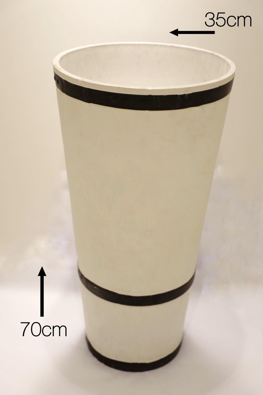 Pot 70x35cm