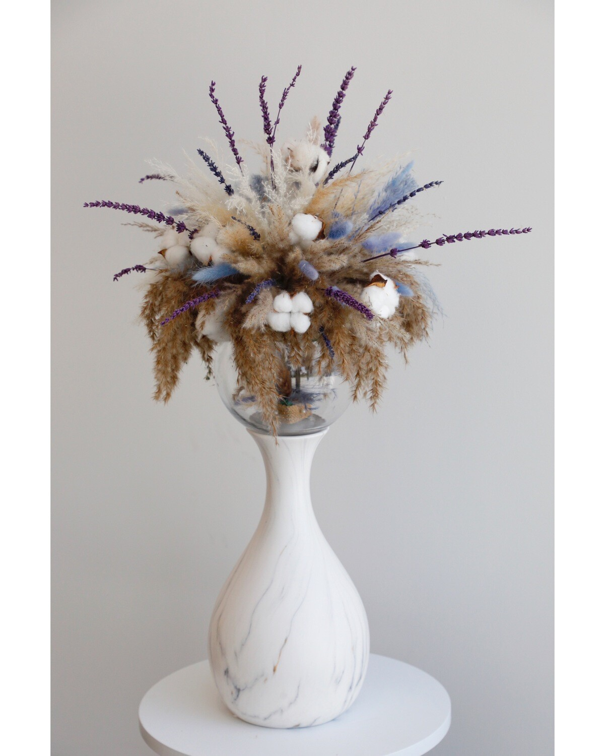 Dry Flowers With Vase