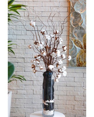 Dry Flowers Cotton