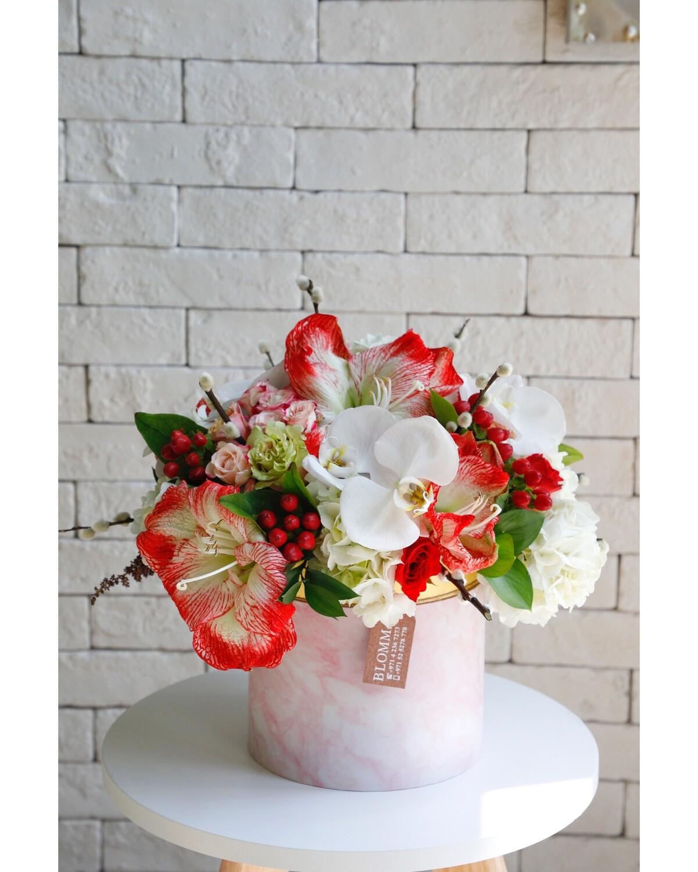 Box Flowers Made of Love ---( Com