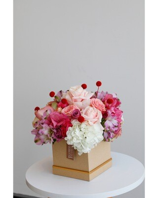 Flowers With Box