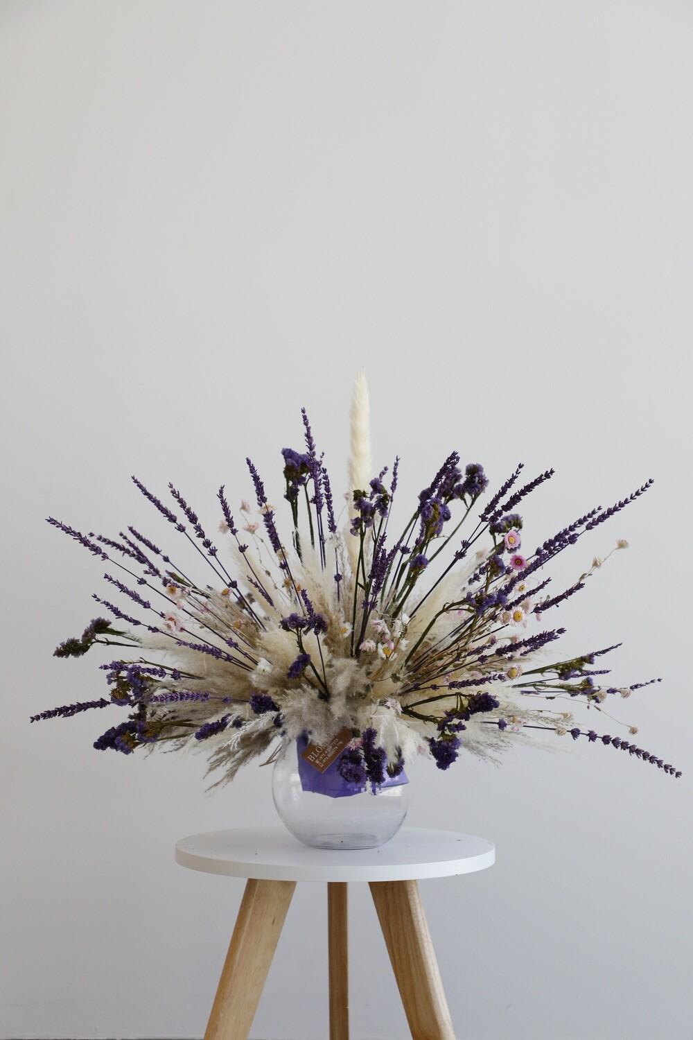 Dry Flower With Glass