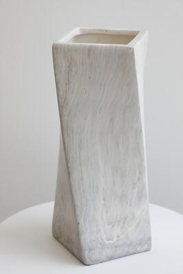 Twist Marble Vase 38cmx14cm